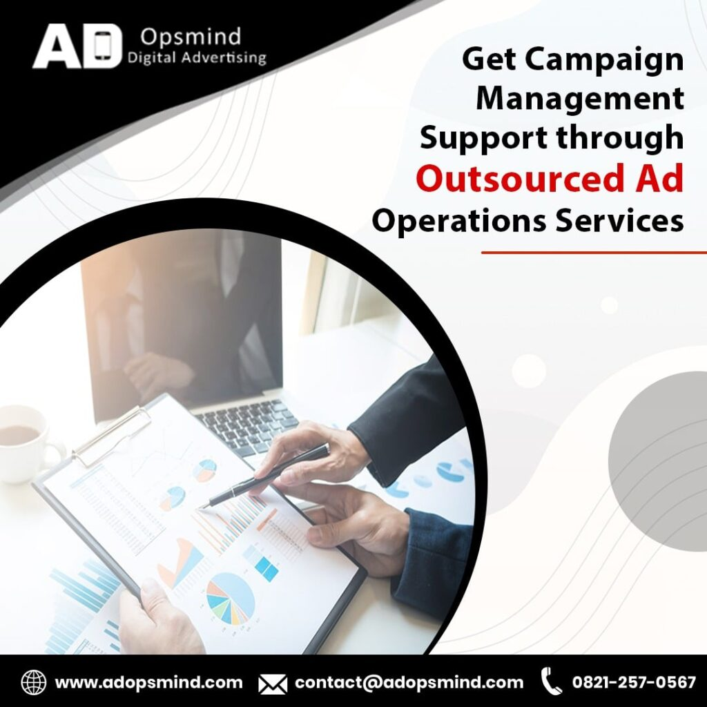 Outsourced Ad operations services by www.adopsmind.com